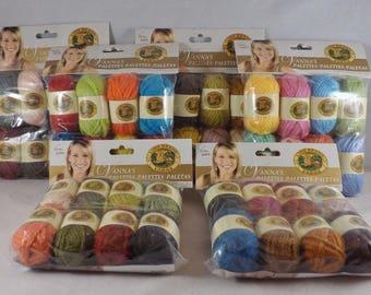 Vanna's Palettes Bonbons 8 Colors - Lion Brand Yarn