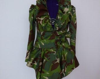 Camouflage gordijn | Etsy