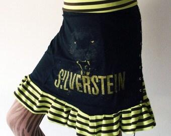 OOAK Silverstein Reconstructed Skirt - Kezbirdie