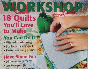 Quilter's How-To Workshop Instruction Magazine - Autumn 2011