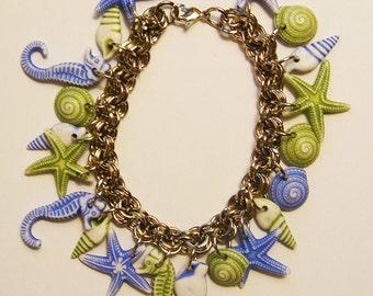 Colorful Sea Shell Dream Bracelet
