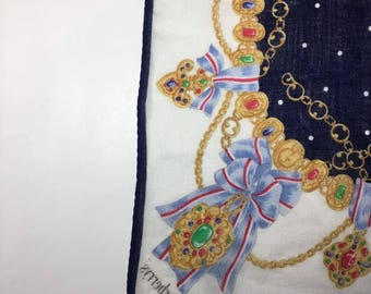 Vintage Burberry scarve bandana rare designer