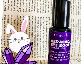 Abracadabye BooBoo . essential oil roll on by origania