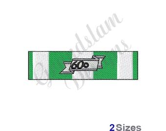 Republic Of Vietnam Campaign Ribbon - Machine Embroidery Design