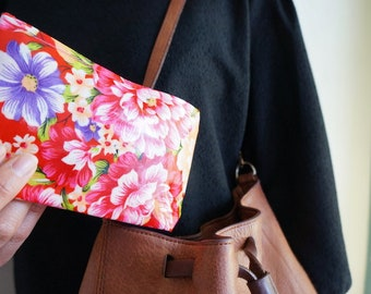 Made in Taiwan Flower Pouch