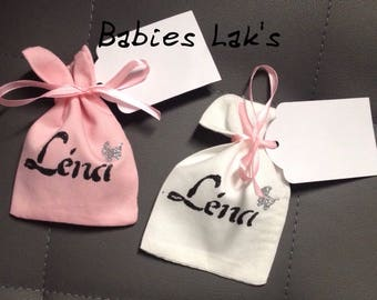 Personalized cotton gift bag