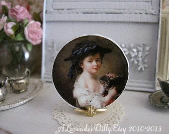 Menor Plate for Dollhouse