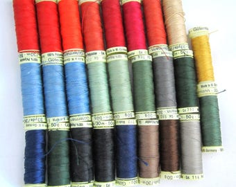 Thread Lots EXTRA STRONG WEIGHT for Upholstery, Home Dec, Top Stitch, Button & Carpet Many Craft Projects