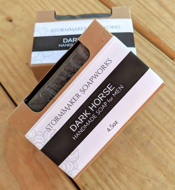 Dark Horse, Soap for Men, Handmade Soap, Palm Free