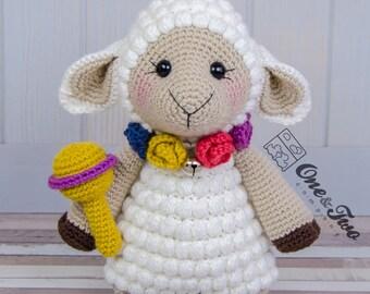 "Sophie the Little Sheep ""Little Explorer Series"" Amigurumi - PDF Crochet Pattern - Instant Download - Amigurumi Cuddy Stuff"