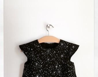 SAMPLE SALE   luna   modern girl dress   size three