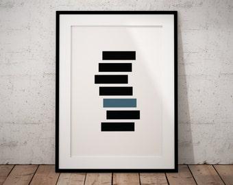 Geometric Printable Art Print, Minimalist Geometric Art Print, Geometric Poster Art, Scandinave Art, Geometric Art Decor, Minimalist Poster