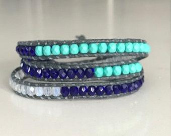 Seattle Mariners Wrap Bracelet