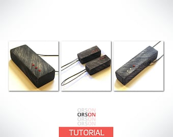 Orson's Original Hollow Boxes in Polymer Clay Original tutorial e-book in English ONLY