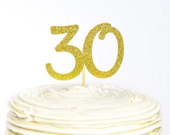 Custom Numeral Birthday Glitter Cake Topper, Cake Topper, Glitter Cake Topper, Birthday Cake Topper, Number Cake Topper, Birthday Topper