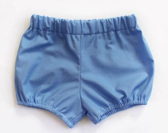 Periwinkle Bloomers / Bloomers / Baby Bloomers / Cotton Baby Bloomers / Bubble Shorts