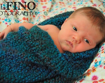 Baby Cocoon and Pod Easy Knitting Pattern -- Two Patterns in One, PDF 101, INSTANT DOWNLOAD -- Over 35,000 patterns sold, 100% positive