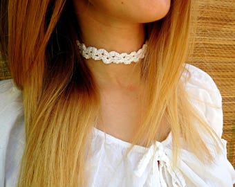 Choker Crochet - Choker Crochet Pattern -  Instant Download