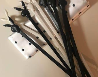 Playboy swizzle sticks
