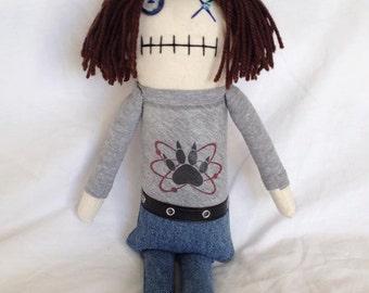 Carl Grimes - Inspired by TWD - Creepy n Cute Zombie Doll (D)