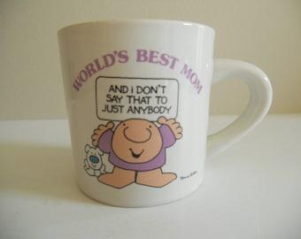 Ziggy World's Greatest Mom Mug