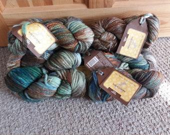 Destash yarn x9 balls Araucania limari