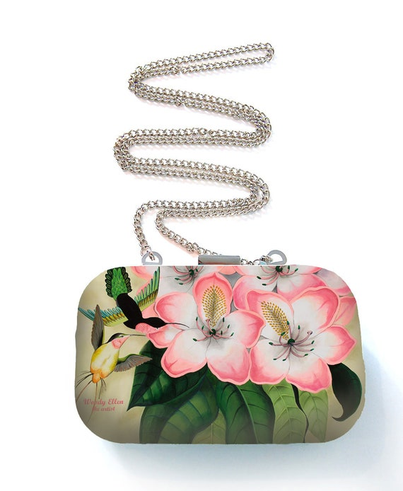 Box purse, box clutch, Libre gift for her, gift for mom,Woody Ellen bag, christmas gift, valentine gift ideas, kolibri, pistachio, pink