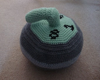 Curling Rock PDF Crochet Pattern