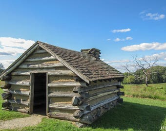 Rustic Cabin Valley Forge Print
