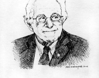 Bernie Sanders Print