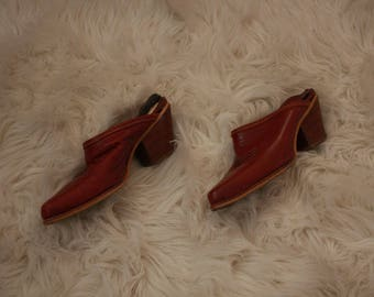 Vintage Womens western booties size 5