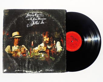 Kenny Loggins with Jim Messina: Sittin' In Vinyl Record Album (1971, Columbia Records) Vintage LP