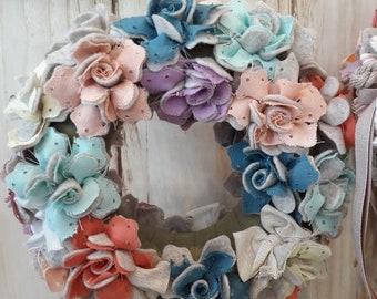 """Ghirlanda """"ricca""""di fiori"""