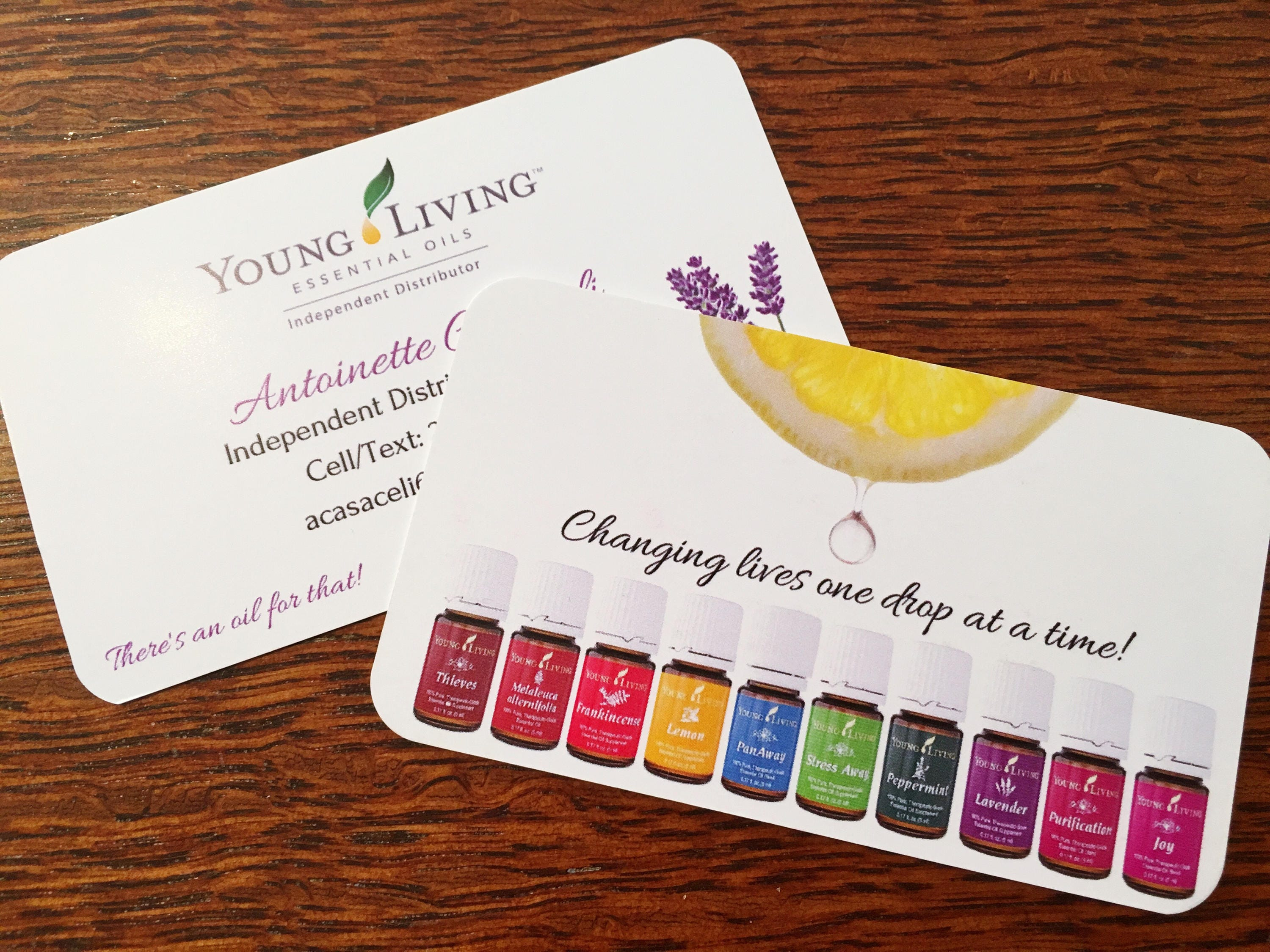 Essential oil business card template for independent zoom colourmoves