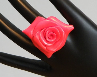 This ring are made of polymer clay