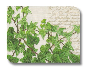 Paper napkin for decoupage, mixed media, collage, scrapbooking x 1. Creeping Ivy. No 1092