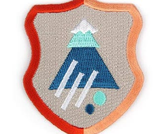 Explorers Crest Iron On Patch