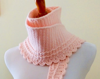 Rebecca Scarf - Crochet PATTERN - INSTANT DOWNLOAD