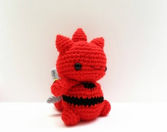 Crochet Scizor Inspired Chibi Pokemon