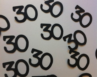 30th Birthday Decorations Confetti