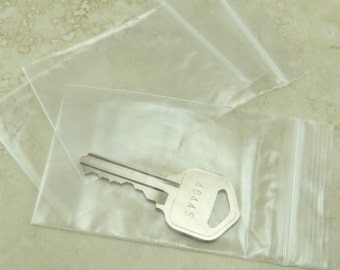 """2"""" x 3"""" Zip Lock Baggies Baggy Bags - 5cm x 7.5cm - For Jewelry, Beads, Small Items, Coins, Parts, Samples, Etc - QTY 100 Pieces"""