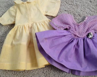 Two Hand Made Doll Outfits