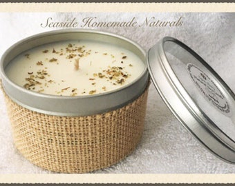 KARMA Natural Soy Candle scented with Essential Oils | Dye Free | Gmo Free Soybean | Home Decor | Gift