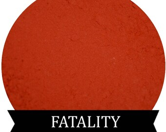 Matte Red Eyeshadow  FATALITY