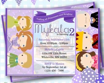Princess Sofia Invitation, Sofia the First Birthday Invitations, Princess Invitation, Princess Sofia Invite, Sofia Birthday Party - P855