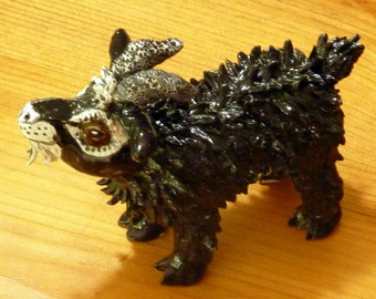Get Your GOAT! Hand made in the USA from a lump of clay Outsider Artist Debbie Limoli