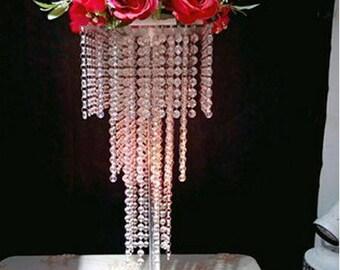 Chandelier/Chandelier Centerpiece/Tabletop Chandelier/Wedding Chandelier/Wedding Centerpieces For Table/Chandelier for Wedding Table/Crystal