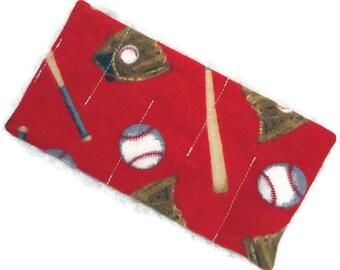 Red baseball marble maze toy READY to SHIP, anxiety relief, calm down, sensory toy, fidget alzheimer dementia, autism, boy man men senior