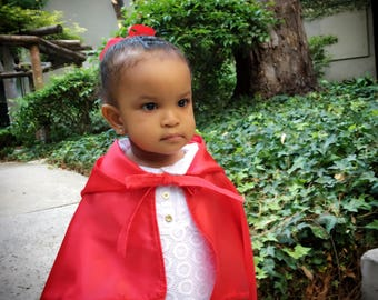 Cosplay Red Riding Hood Baby/Toddler Cape (Best Seller) (Costume party)