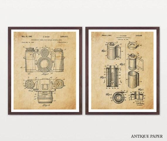 Film Photography Art - Photography Poster - Photography Patent - Photography Art - Photo Patent - Film Canister - Film Camera - Camera Art